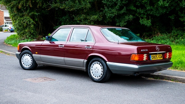 1987 Mercedes-Benz 420 SE For Sale (picture 8 of 155)