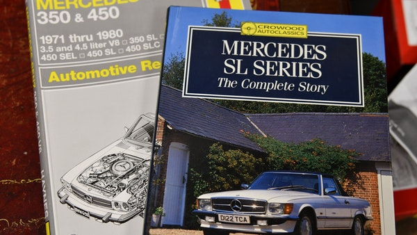 RESERVE LOWERED - 1974 Mercedes 450 SL For Sale (picture 87 of 119)