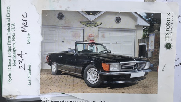 1982 Mercedes 500 SL For Sale (picture 201 of 202)