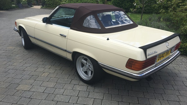 1985 Mercedes 500 SL For Sale (picture 20 of 58)