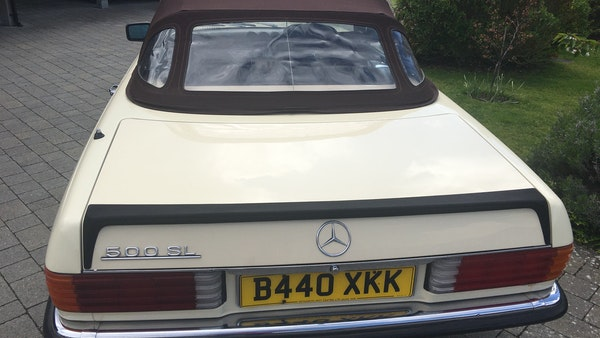 1985 Mercedes 500 SL For Sale (picture 19 of 58)