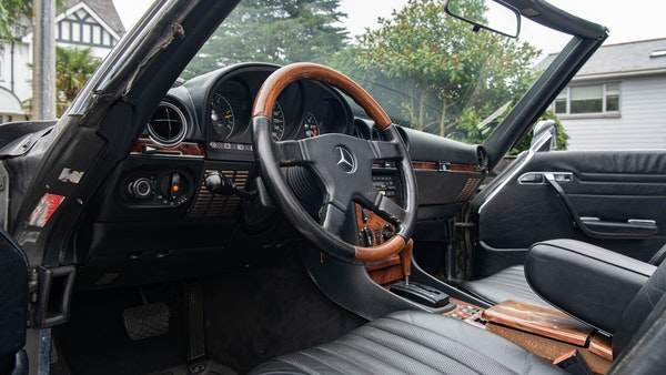 1985 Mercedes-Benz 500 SL LHD For Sale (picture 30 of 175)