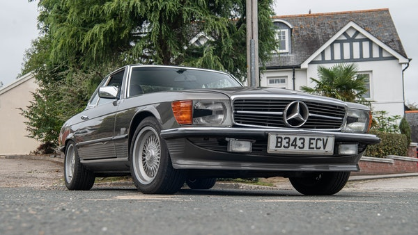 1985 Mercedes-Benz 500 SL LHD For Sale (picture 19 of 175)