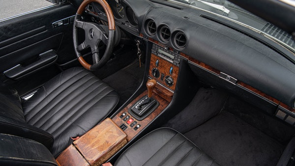 1985 Mercedes-Benz 500 SL LHD For Sale (picture 60 of 175)