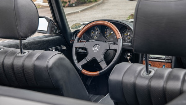 1985 Mercedes-Benz 500 SL LHD For Sale (picture 55 of 175)