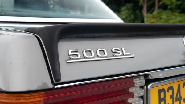 1985 Mercedes-Benz 500 SL LHD For Sale (picture 120 of 175)
