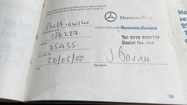 1989 Mercedes 560 SEC For Sale (picture 60 of 79)