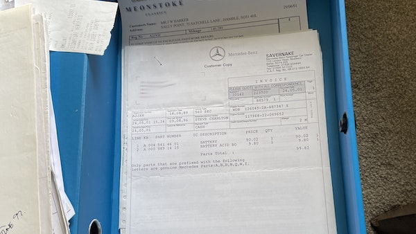 1989 Mercedes 560 SEC For Sale (picture 61 of 79)