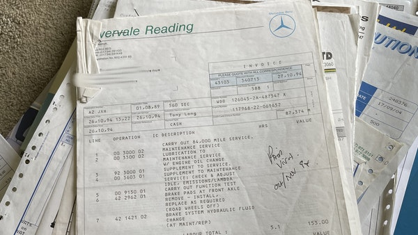 1989 Mercedes 560 SEC For Sale (picture 74 of 79)