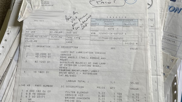 1989 Mercedes 560 SEC For Sale (picture 64 of 79)