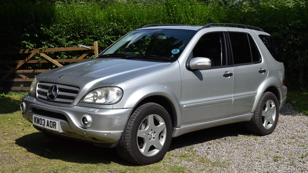 2003 Mercedes-Benz AMG ML55 For Sale (picture 1 of 69)