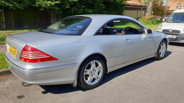 2005 Mercedes-Benz CL500 Coupe For Sale (picture 13 of 72)