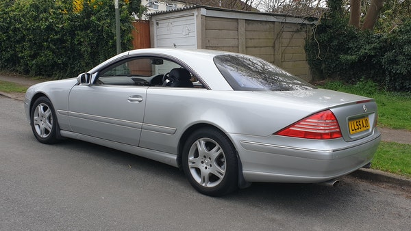 2005 Mercedes-Benz CL500 Coupe For Sale (picture 9 of 72)