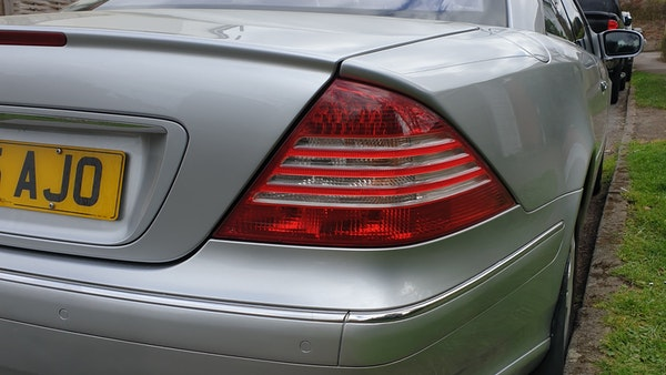 2005 Mercedes-Benz CL500 Coupe For Sale (picture 68 of 72)