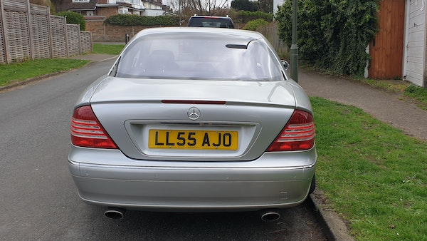 2005 Mercedes-Benz CL500 Coupe For Sale (picture 11 of 72)