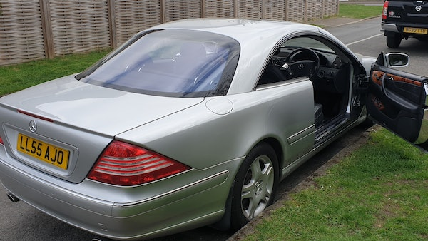 2005 Mercedes-Benz CL500 Coupe For Sale (picture 61 of 72)