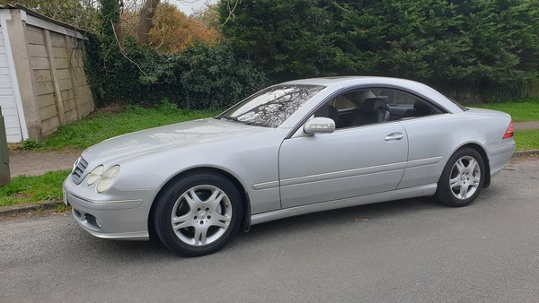 2005 Mercedes-Benz CL500 Coupe For Sale (picture 8 of 72)