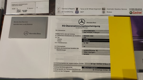 2008 Mercedes-Benz CL500 For Sale (picture 106 of 110)