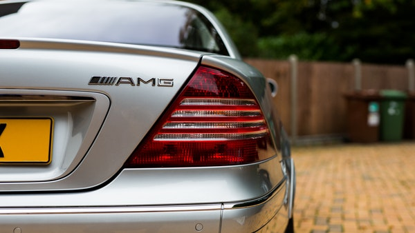 2002 Mercedes-Benz CL55 AMG For Sale (picture 36 of 113)