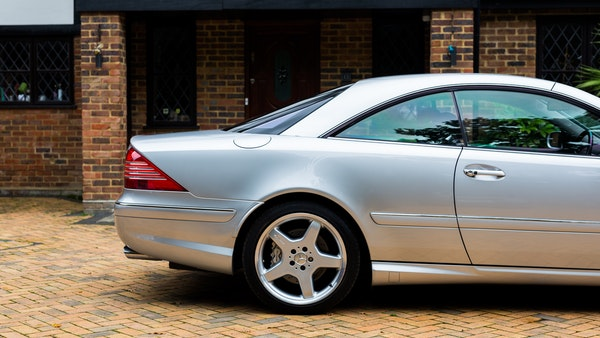 2002 Mercedes-Benz CL55 AMG For Sale (picture 72 of 113)