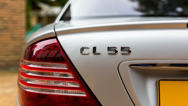 2002 Mercedes-Benz CL55 AMG For Sale (picture 38 of 113)