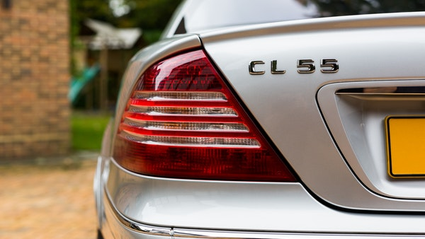 2002 Mercedes-Benz CL55 AMG For Sale (picture 39 of 113)