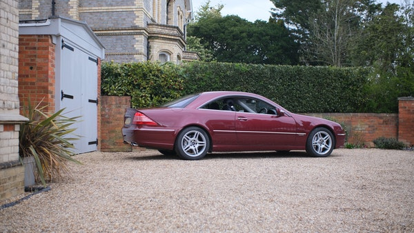 RESERVE LOWERED! - 2003 Mercedes CL600 For Sale (picture 26 of 255)