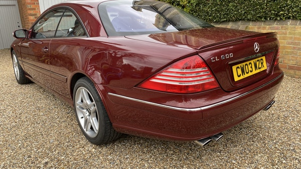 RESERVE LOWERED! - 2003 Mercedes CL600 For Sale (picture 43 of 255)
