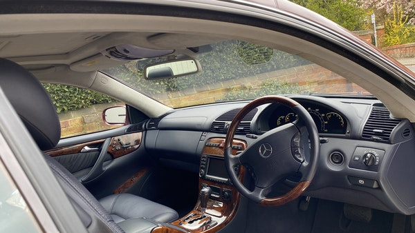RESERVE LOWERED! - 2003 Mercedes CL600 For Sale (picture 140 of 255)