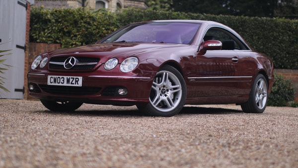 RESERVE LOWERED! - 2003 Mercedes CL600 For Sale (picture 3 of 255)