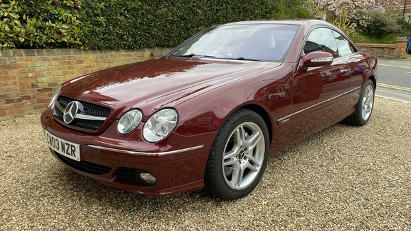RESERVE LOWERED! - 2003 Mercedes CL600 For Sale (picture 45 of 255)