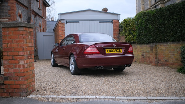 RESERVE LOWERED! - 2003 Mercedes CL600 For Sale (picture 29 of 255)