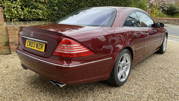 RESERVE LOWERED! - 2003 Mercedes CL600 For Sale (picture 41 of 255)