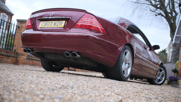 RESERVE LOWERED! - 2003 Mercedes CL600 For Sale (picture 37 of 255)