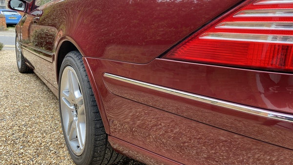 RESERVE LOWERED! - 2003 Mercedes CL600 For Sale (picture 68 of 255)