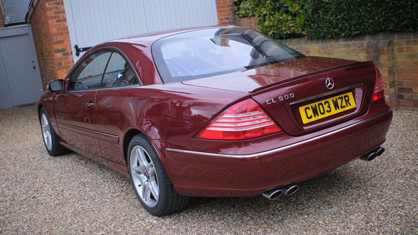 RESERVE LOWERED! - 2003 Mercedes CL600 For Sale (picture 28 of 255)