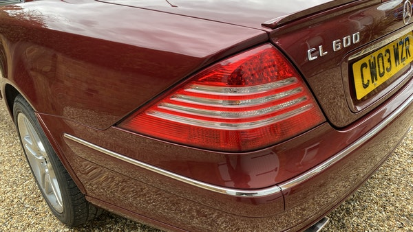 RESERVE LOWERED! - 2003 Mercedes CL600 For Sale (picture 112 of 255)