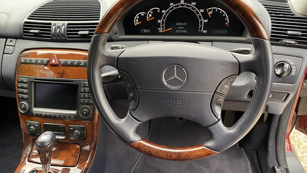 RESERVE LOWERED! - 2003 Mercedes CL600 For Sale (picture 185 of 255)