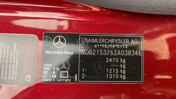 RESERVE LOWERED! - 2003 Mercedes CL600 For Sale (picture 249 of 255)