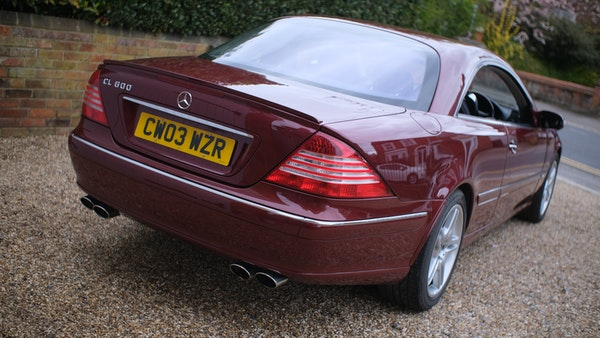 RESERVE LOWERED! - 2003 Mercedes CL600 For Sale (picture 24 of 255)