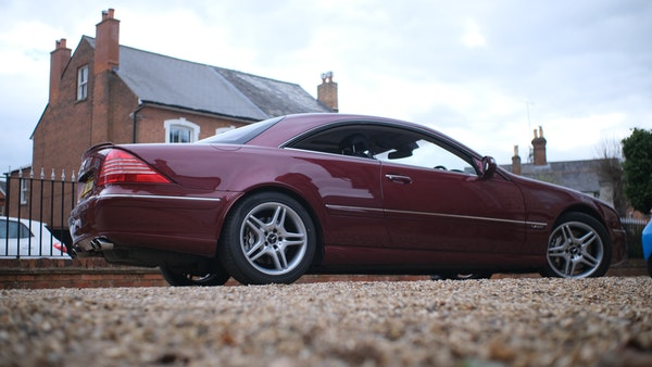 RESERVE LOWERED! - 2003 Mercedes CL600 For Sale (picture 36 of 255)