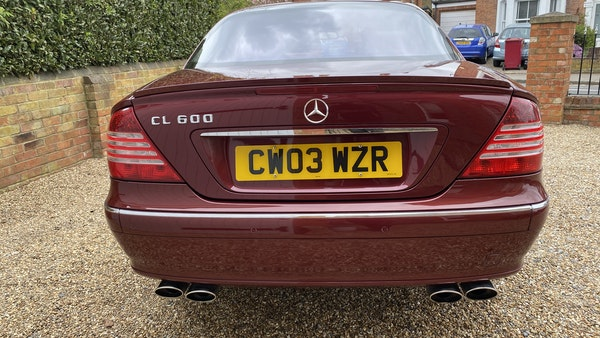 RESERVE LOWERED! - 2003 Mercedes CL600 For Sale (picture 42 of 255)