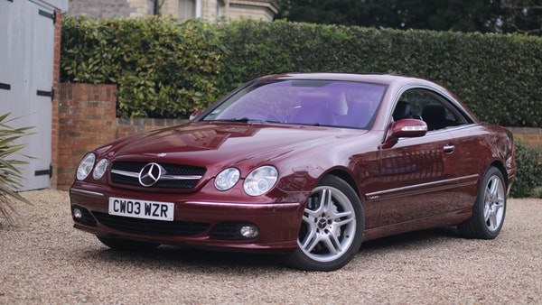 RESERVE LOWERED! - 2003 Mercedes CL600 For Sale (picture 1 of 255)