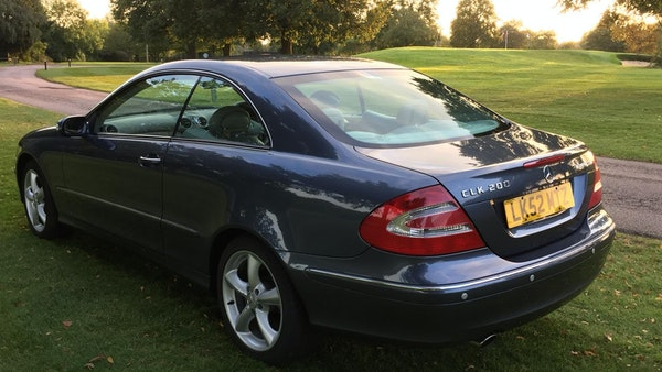 2002 Mercedes-Benz CLK 200 Elegance For Sale (picture 11 of 89)