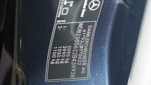2002 Mercedes-Benz E240 Elegance For Sale (picture 49 of 95)