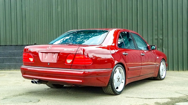 1999 Mercedes E55 AMG For Sale (picture 24 of 130)