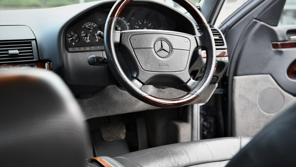 RESERVE LOWERED - 1995 Mercedes-Benz S600 V12 For Sale (picture 21 of 133)