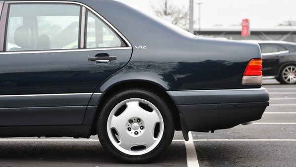 RESERVE LOWERED - 1995 Mercedes-Benz S600 V12 For Sale (picture 75 of 133)