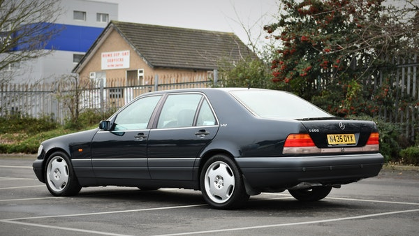 RESERVE LOWERED - 1995 Mercedes-Benz S600 V12 For Sale (picture 13 of 133)