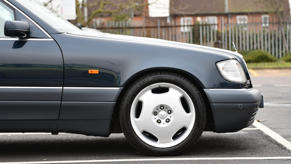 RESERVE LOWERED - 1995 Mercedes-Benz S600 V12 For Sale (picture 77 of 133)